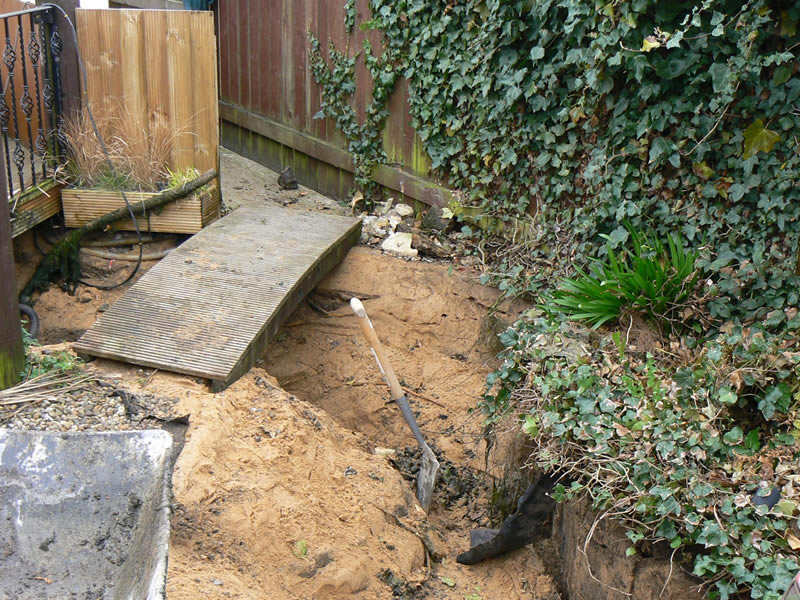 West property services work customer testimonials for Pond installation
